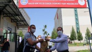 Korona ile mücadelede Diyarbakır'daki KYK yurtları başarıda zirvede