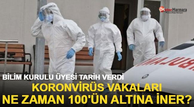 Koronavirüs vakaları ne zaman 100'ün altına iner? Bilim Kurulu üyesi tarih verdi