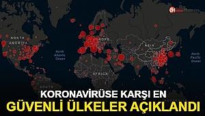 Koronavirüse karşı en güvenli ülkeler açıklandı!