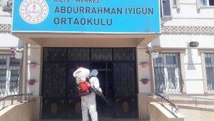 LGS sınavı yapılacak okullar dezenfekte edildi