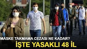 Maske takmama cezası ne kadar? Hangi illerde maskesiz sokağa çıkmak yasak?