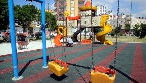 Mersin'de park ve yeşil alanlar normalleşme dönemine hazırlanıyor