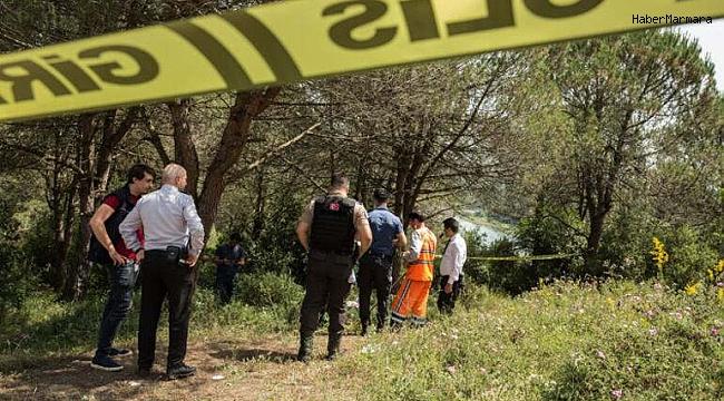 Ormanda boğazı kesilmiş erkek cesedi bulundu