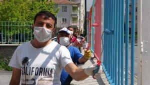 Pandemi dönüşünde öğrenciler okullarını rengarenk bulacak