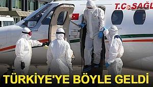 Rusya'daki Türk hasta yurda getirildi
