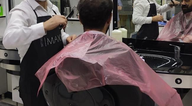 Tatvan'daki berber, kuaför ve güzellik salonlarından 'korona virüs' açıklaması