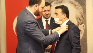 Tavşanlı Belediye Başkanı Mücahit Kaçar AK Parti'ye geçti