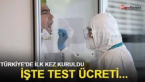Türkiye'de ilk kez kuruldu! İşte test ücreti...