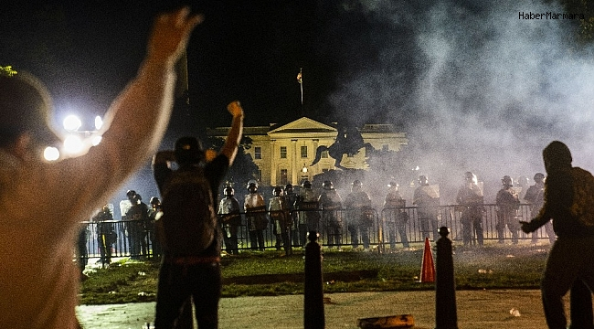 Washington'da 2 günlük sokağa çıkma yasağı ilan edildi