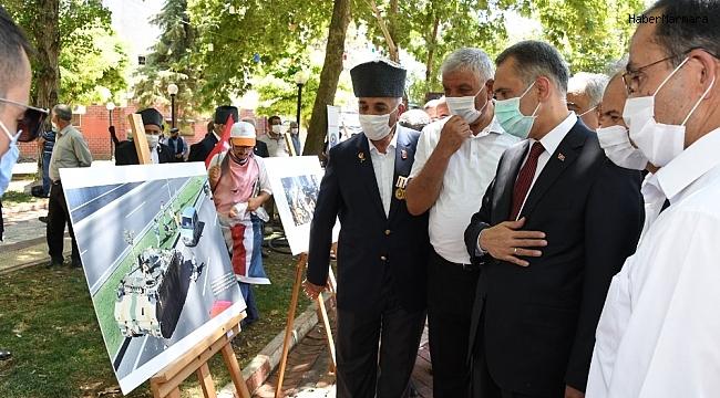 15 Temmuz Fotoğraf Sergisinin açılışı yapıldı