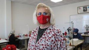 15 Temmuz'a özel 5 bin adet maske üretildi