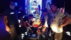 50 metrelik uçuruma yuvarlanan sürücü, kendisini unuttu ablasının kurtardı