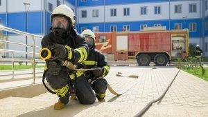 Akkuyu NGS'de yangın tatbikatı yapıldı