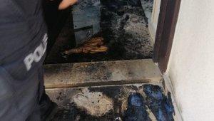 Akrabalarına ait 3 evi benzin dökerek kundaklayan şüpheli yakalandı