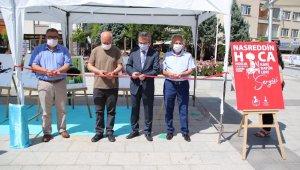 Akşehir'de şenlik sergileri açıldı