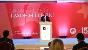 """Bakan Gül: """"Yargının FETÖ ile mücadelesinin tek pusulası anayasadır, kanunlardır, adalettir"""""""