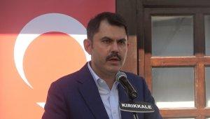 """Bakan Kurum: """"2023'ün 2071'in güçlü Türkiye'si için çalışacağız"""""""