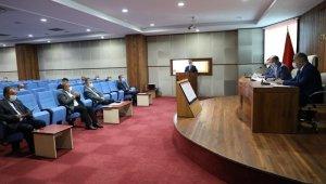 Bartın'da Mahalli İdareler Birliği Meclis toplantısı yapıldı