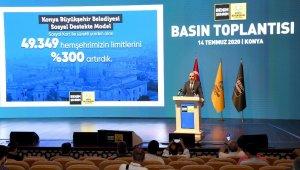 """Başkan Altay: """"Konyamızın bugünü ve yarını için çalışıyoruz"""""""