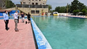 Başkan Bozkurt Pınarbaşı havuzlarında incelemelerde bulundu