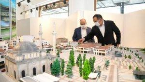 """Başkan Demir: """"Saathane Meydanı Projesi ile şehrimizin tarihi dokusunu gün yüzüne çıkaracağız"""""""