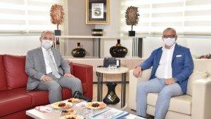Başkan Ergün, Vali Karadeniz'i ağırladı