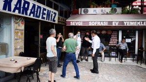 Başkan Yıldız Sütlüce'de esnaf ve vatandaşların taleplerini dinledi