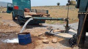 Bingöl'de araştırma amaçlı sondaj vuruldu, saniyede 16 litre su elde edildi