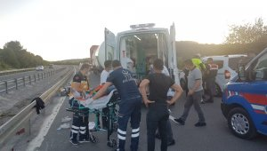 Bolu'da 3 motosiklet çarpıştı: 4 yaralı