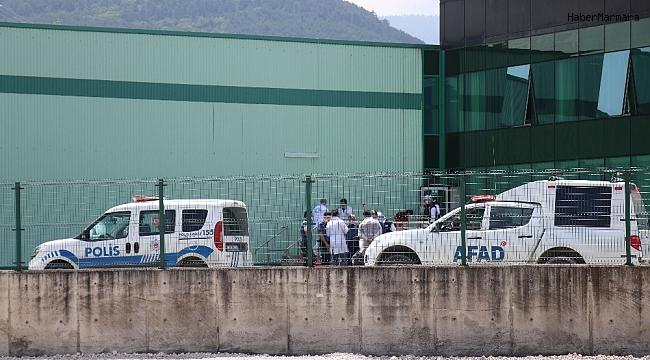 Bolu'da beyaz et tesisinde amonyak gazı sızınca 7 işçi hastanelik oldu