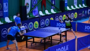 Bursa'da masa tenisinde anlamlı turnuva
