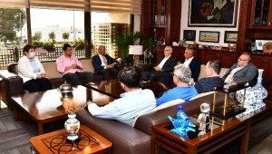 CHP'nin Ege il başkanları Başkan Soyer'i ziyaret etti