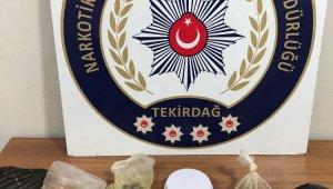 Çorlu polisinden uyuşturucu operasyonu