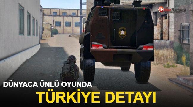 Dünyaca ünlü oyunda Türkiye detayı!
