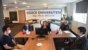 Düzce Üniversitesinden 15 Temmuz etkinliği