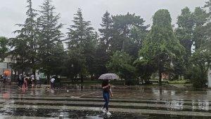 Düzce'de metrekareye 97 kilogram yağış düştü