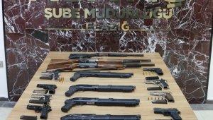 Elazığ'da çeşitli suçlardan aranan 18 şüpheli tutuklandı
