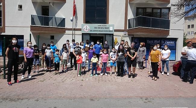Engelliler ve ailelerinin yüzünü güldüren proje