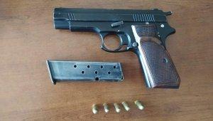 Eski kayınbabasını silahla vuran zanlı tutuklandı