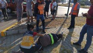 Fethiye'de kamyonet ile motosiklet çarpıştı: 1 ölü