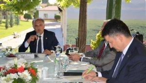 Fındık Çalışma Grubu, fındık üreticilerinin taleplerini Bakan Pakdemirli'ye iletti