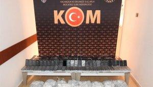 İstanbul'a giden araçtan yüzlerce kaçak telefon çıktı
