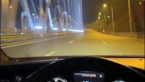"""İstanbul'da """"drift"""", """"makas"""" ve """"hız"""" terörü kamerada"""
