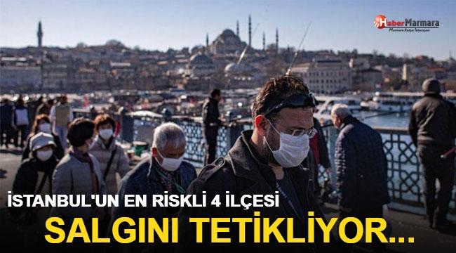 İşte İstanbul'un en riskli 4 ilçesi! Salgını tetikliyor...