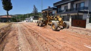 İzmit Belediyesi, Kabaoğlu Mahallesine yeni bir cadde kazandırıyor