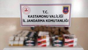 Kastamonu'da kaçak sigara operasyonu