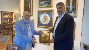 KBÜ Rektörü Polat'tan Türker İnanoğlu'na ziyaret