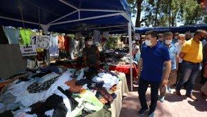 Kepez'in sosyete pazarı açıldı