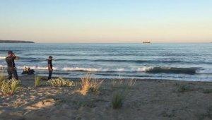 Kırklareli'de denize giren kişi kayboldu