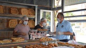 Kızıltepe'de korona virüs denetimleri